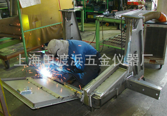 Stainless steel welded structure