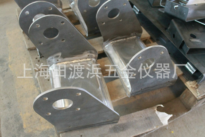 Welding parts processing welding pieces