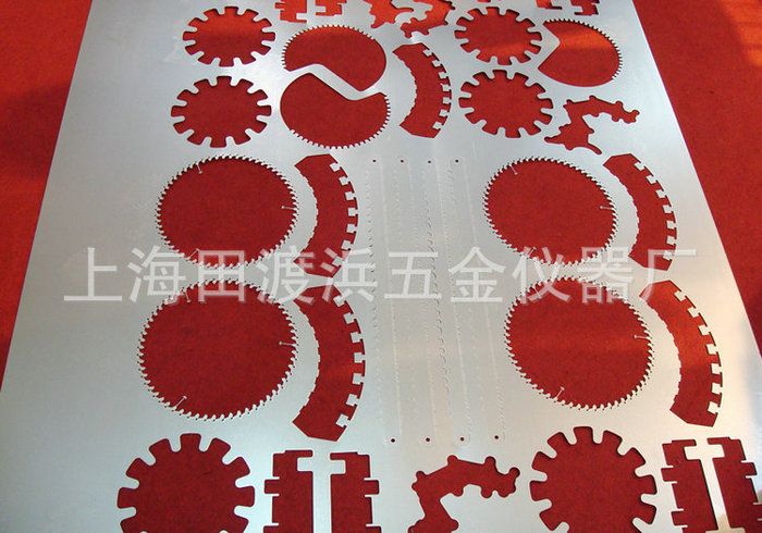 Large laser cutting